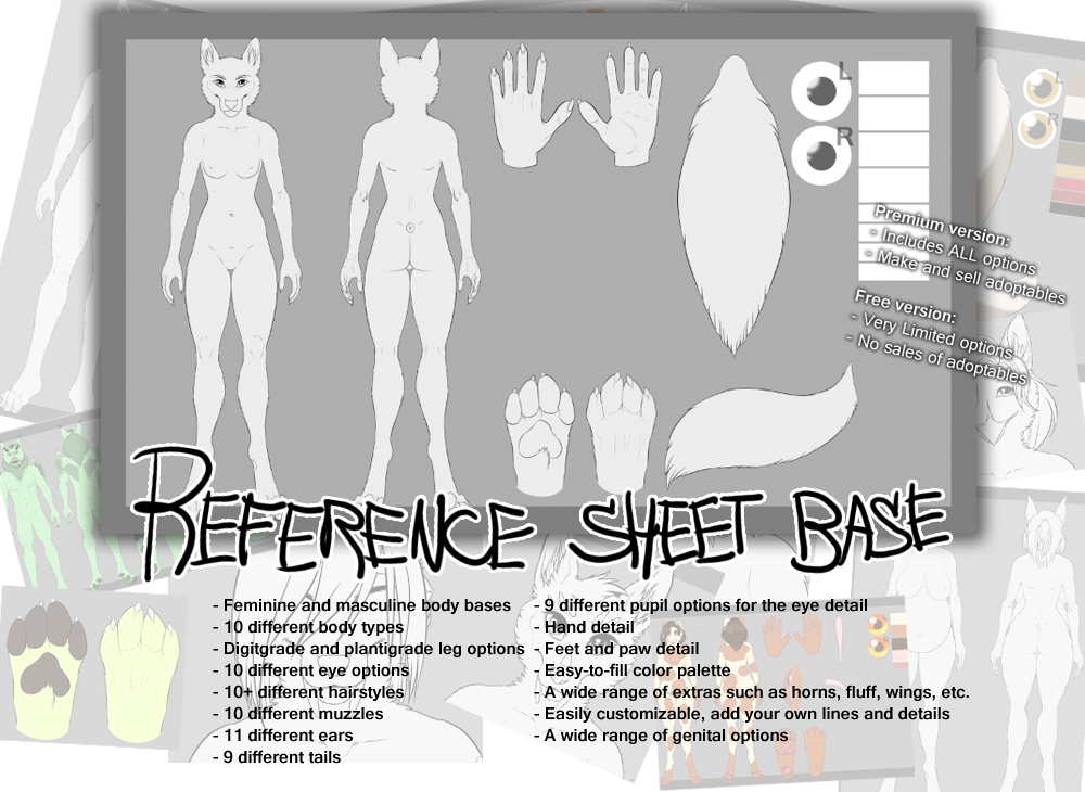 Most recent image: Premium and Free Reference Sheet Blank
