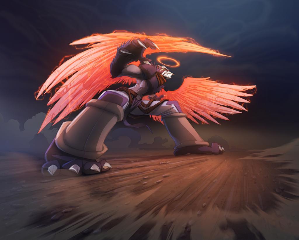 Igrath Skirmish Card Flip Art