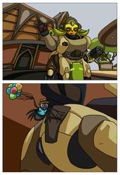 [commission] spider comic 3