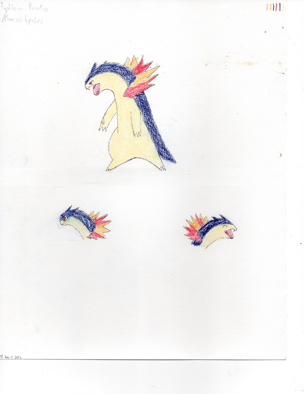 Most recent image: Typhlosion