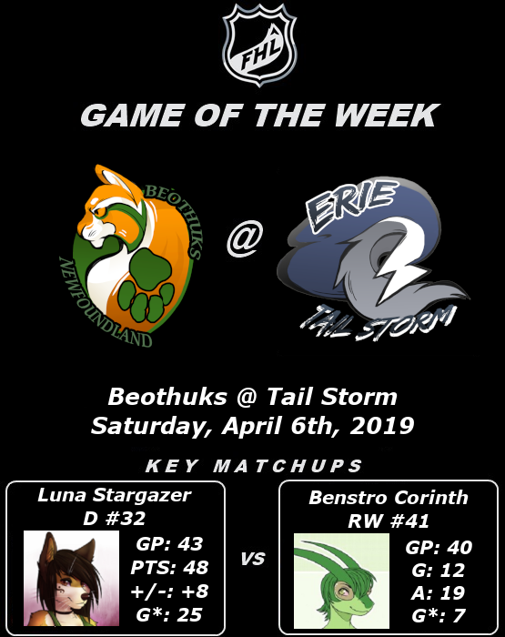 FHL Season 7 Game of the Week #17: Beothuks @ Tail Storm