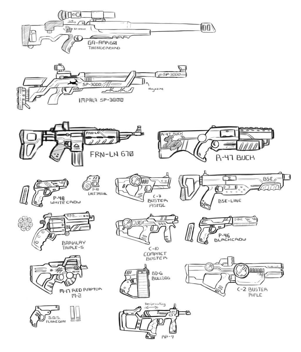 GUNS GUNS GUNS! (Echo 6)
