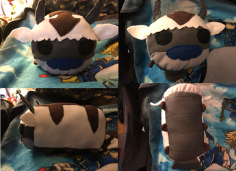 Avatar the Last Airbender Appa Medium Stacking Plush For Sale