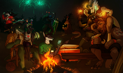 YCH - Drayk's New Years Get Together