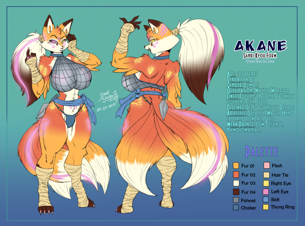 [Commission] Akane Refference Form 2