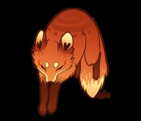Flickerflame Fox