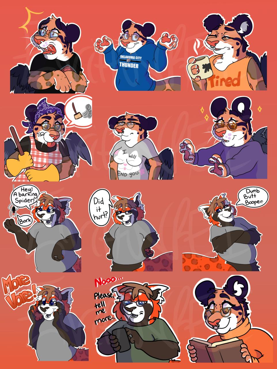 Rei Telegram Sticker Expansion Pack