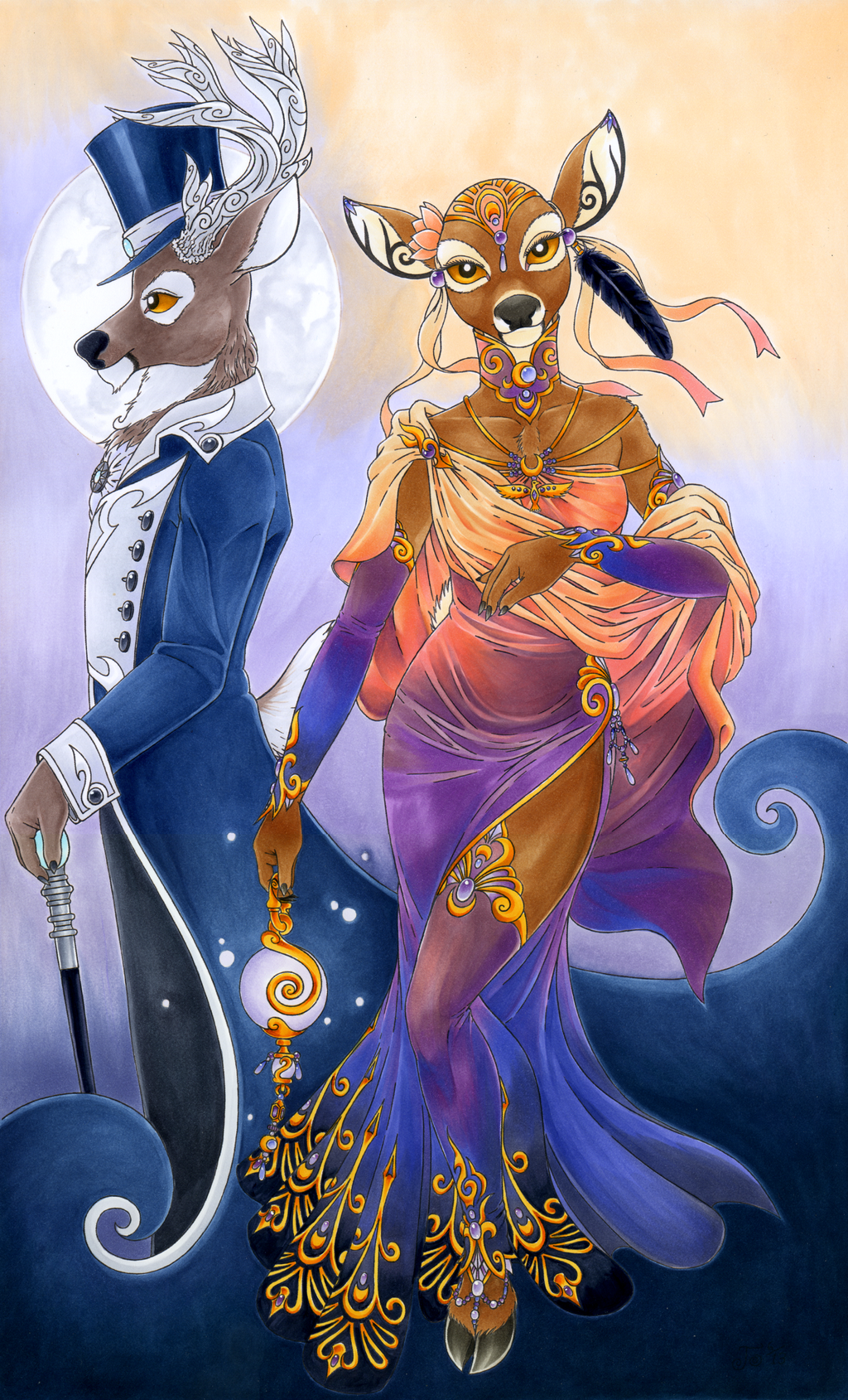 Elegance (Colored by Lorien077))