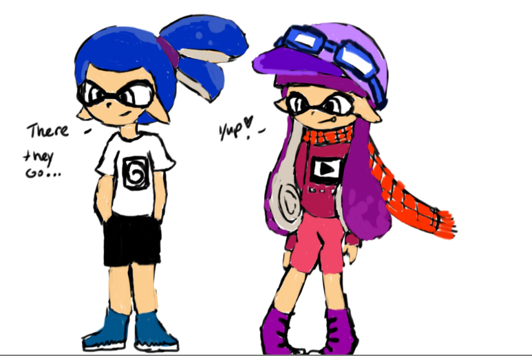Inkling Boy and Girl