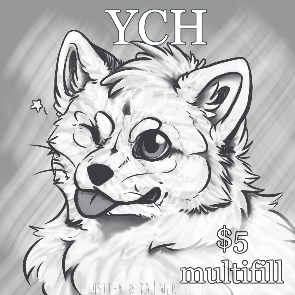 Cute Blep YCH | $5 | Open