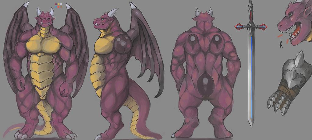 Most recent image: Kaiju Knight!