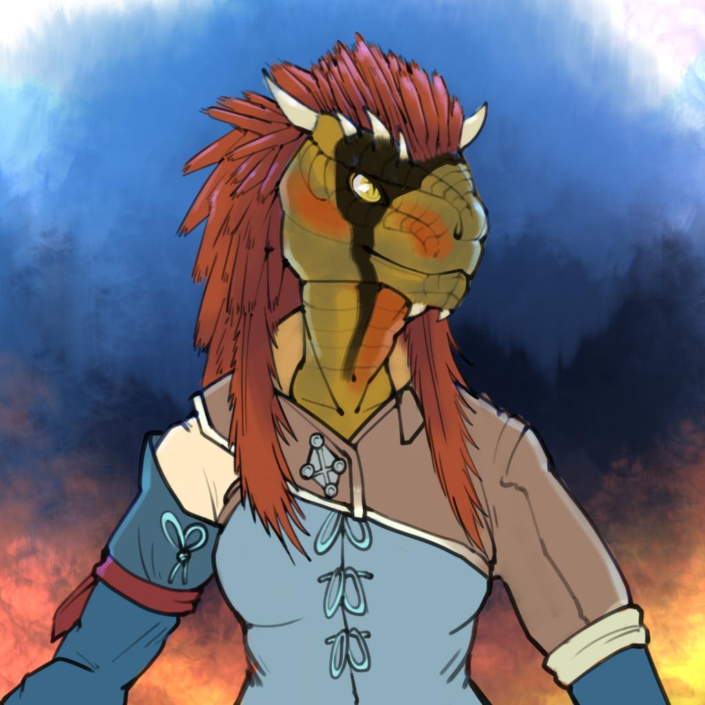 [O]Sheela-Tei, an Argonian mage( WIP )