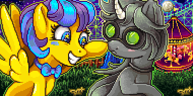 Pixel Portrait - Laffy Taffy & Discordian