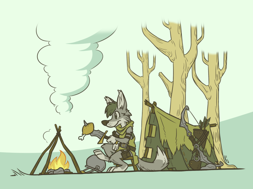 Camping (by Kodju)