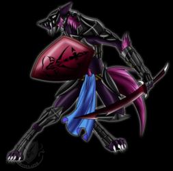 Ookami armor before