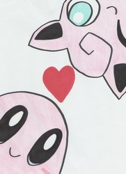 Kirby and Jigglypuff