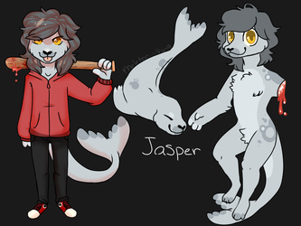 Jasper the leopard seal
