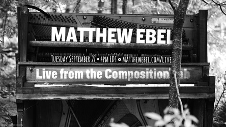 Live from the Composition Lab - September 27, 2016