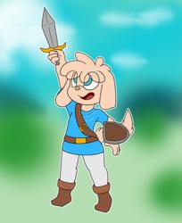 Tealward Sword