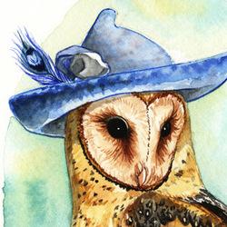 Strange Barn Owl
