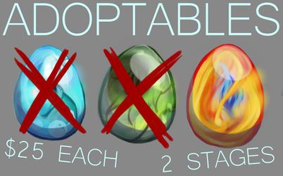 Elemental Adoptables!