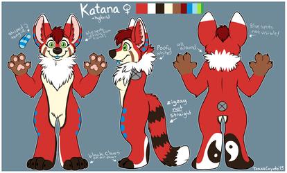 Katana Fursuit Concept-AutumnFalllings