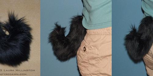 Black Goat Tail