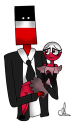 second reich and poland (countryhumans)