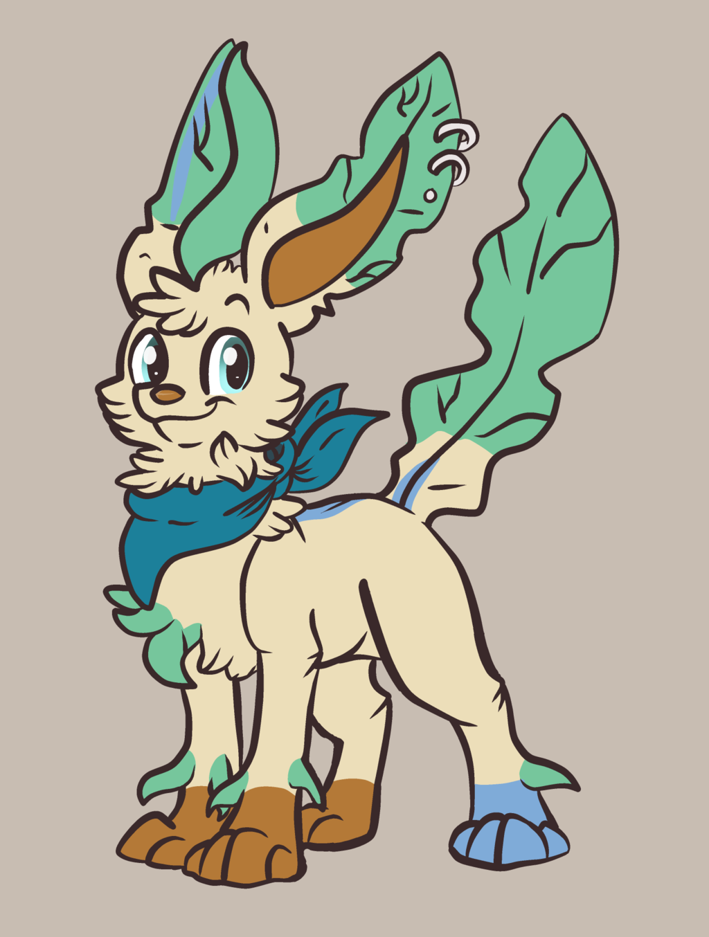 Leafeon Mewt :Commission:
