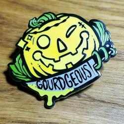 [QD] Gourd-geous Enamel Pin