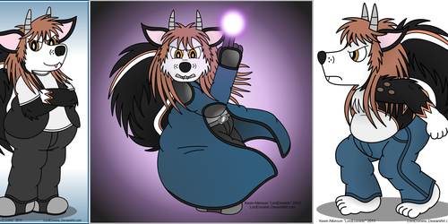 Lord Dominic Skunkdog Fursona Collection (2013)