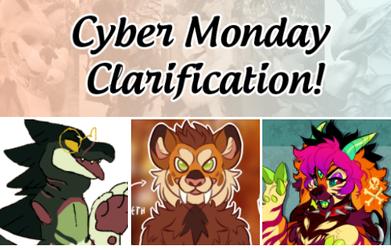 Clarification for Cyber Monday suit deal!