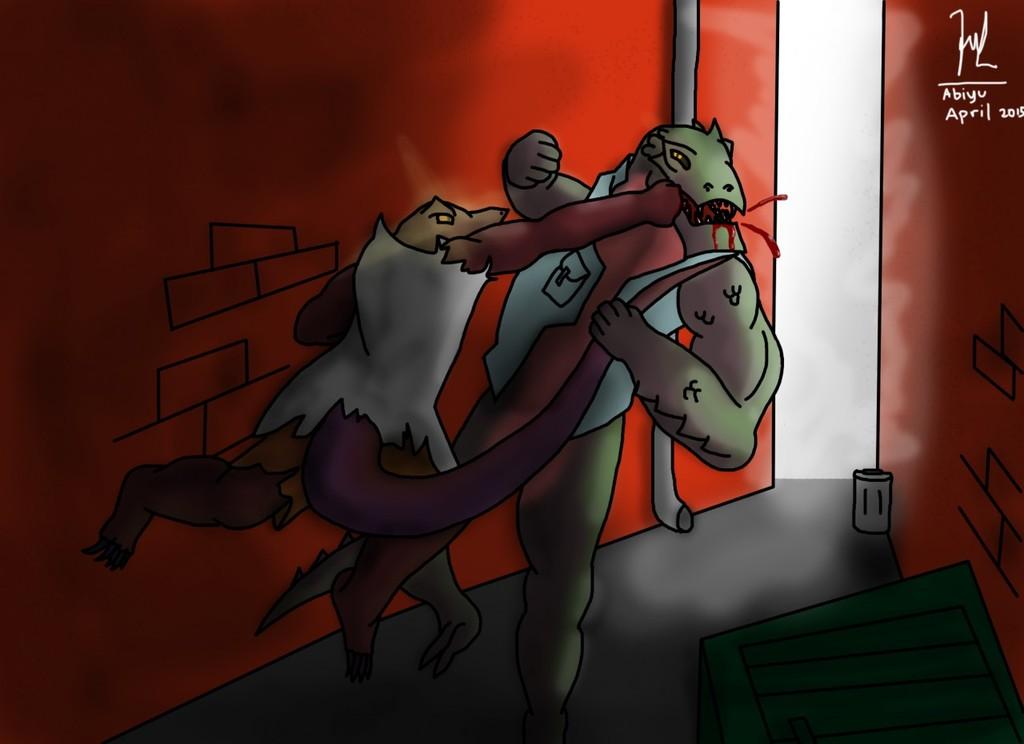 Lizard Brawl