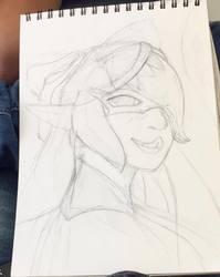 Callie [Splatoon] - Rough sketch
