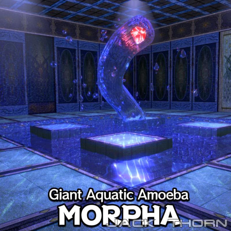 Giant Aquatic Amoeba: Morpha