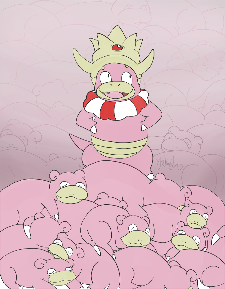 Most recent image: Slowpoke Kingdom