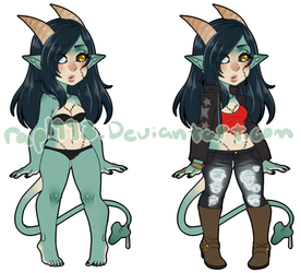 MrazzyxMuffins Custom Outfit Commission