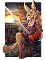 Fayna the Blacksmith