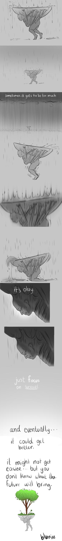 [PERSONAL VENT ART!] DEPRESSION.