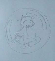 Dingo in a Bubble!!