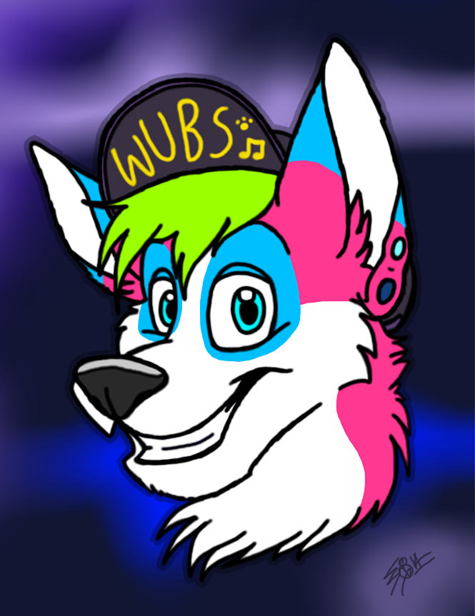 HuskySwag [done by FatCorgiOnyx]