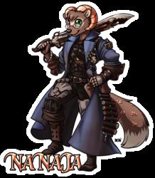 Nanaja Gunbreaker Full Body Badge