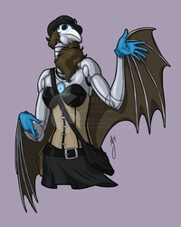 Commission - Blue Jay