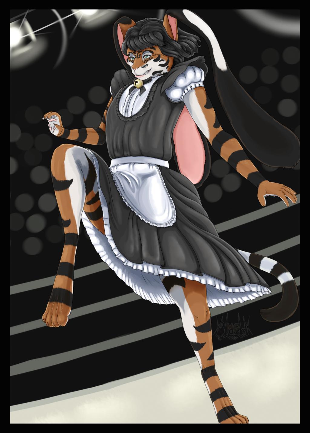 Most recent image: [c] - Cabbit Fighter Maid