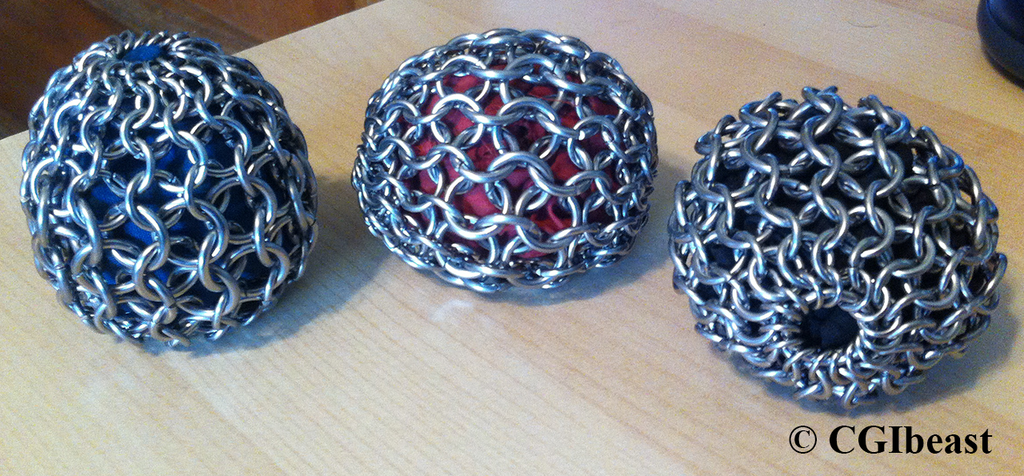 Chainmaille Juggling Balls Hacky Sacks
