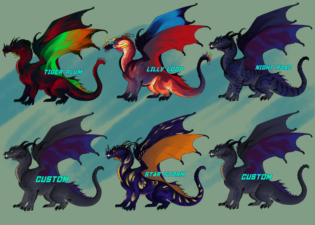 Featured image: Timberland Dragons Adopts [OPEN]