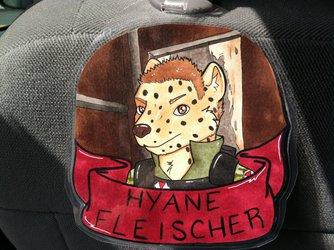 Hyäne Badge