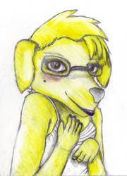 [Giftart] The Gheyest Pup Around / Furries with Lips