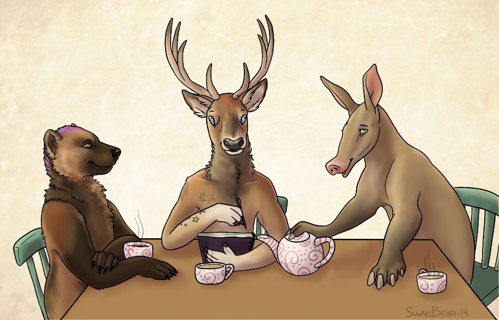 Most recent image: Meeting over tea