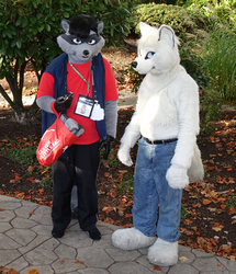 Serious Paw Discussion with Artie - RF 2015